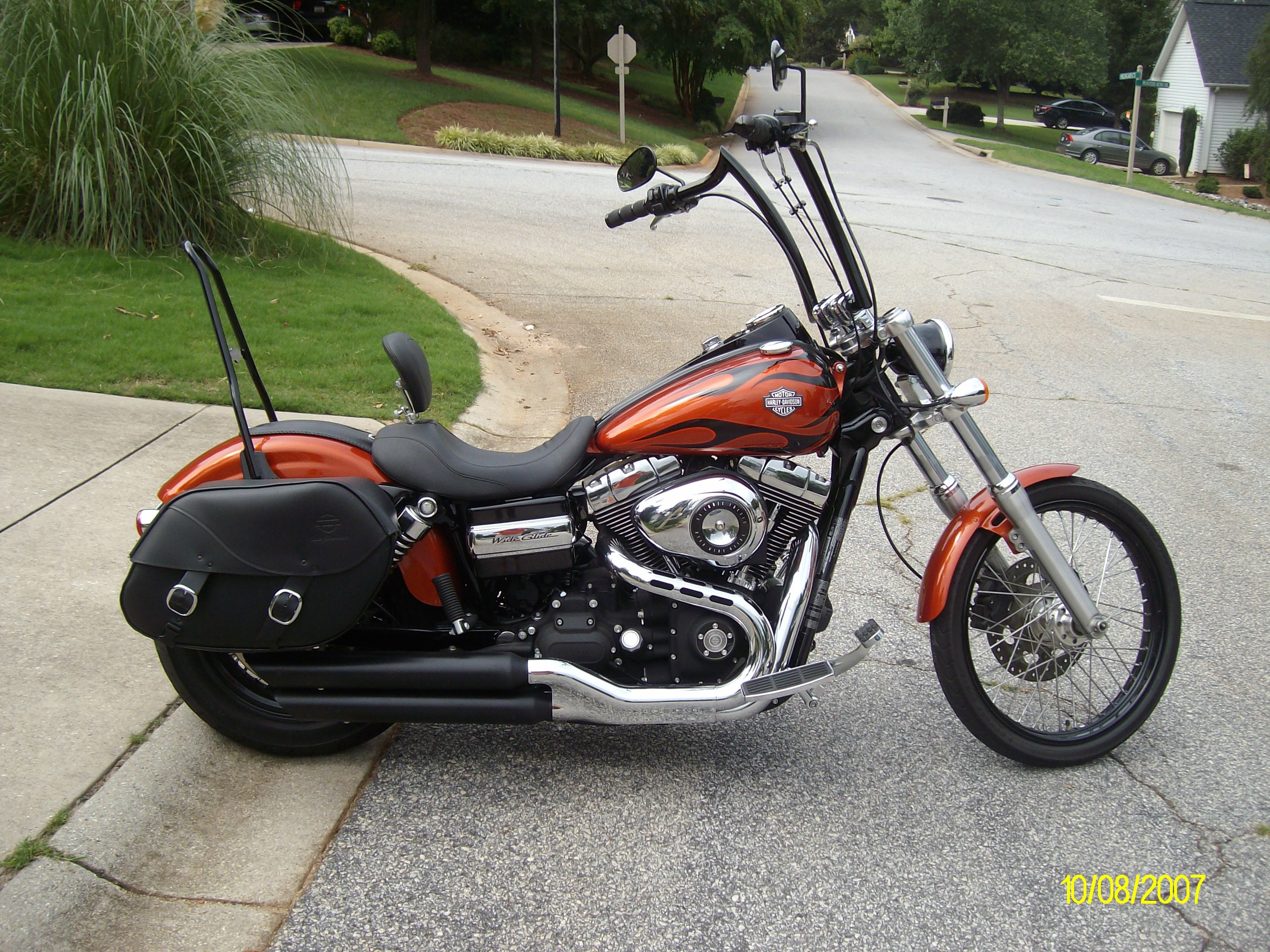 2011 Harley-Davidson® FXDWG Dyna® Wide Glide® (Orange ...