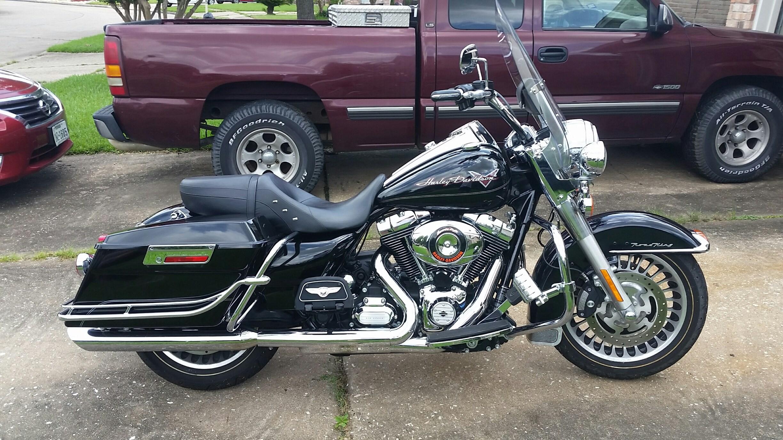 2012 Harley Davidson 174 Flhr Road King 174 Vivid Black