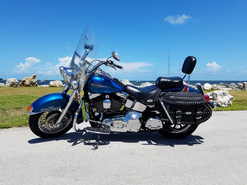 Sell My Motorcycle >> 2005 Harley-Davidson® FLSTC/I Heritage Softail® Classic (Sunglo Blue), Key Largo, Florida ...