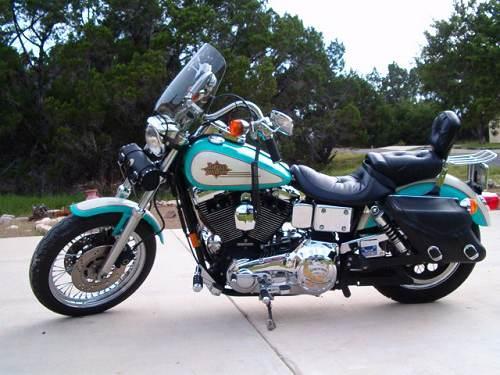1997 Harley-Davidson® FXDL Dyna® Low Rider® (Aqua/Cream ...