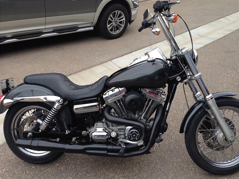 Harley Dyna Motorcycles For Sale Ga >> 2007 Harley-Davidson® FXDC Dyna® Super Glide® Custom (Black Pearl/Deep Gray Pearl), Mesquite ...