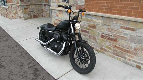 Photo of a 2010 Harley-Davidson® XL883N Sportster® Iron 883™