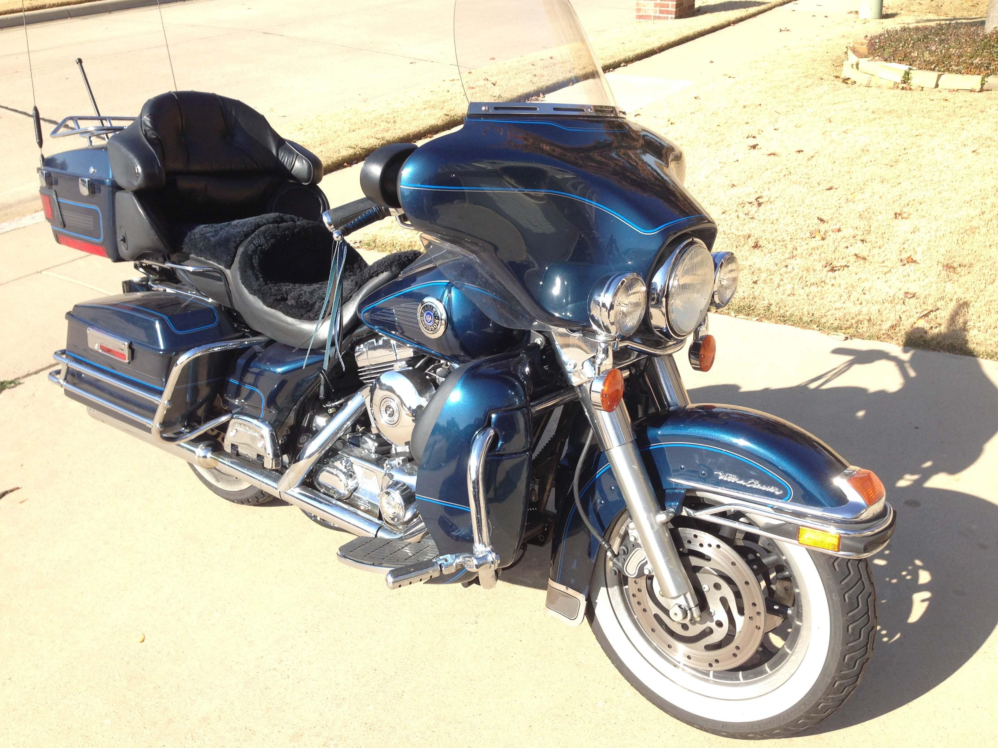 2001 Harley Davidson 174 Flhtc I Electra Glide 174 Classic Blue