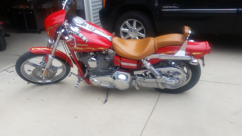Photo of a 2001 Harley-Davidson®  CVO Wide Glide Switchblade