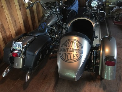 Road King® Custom w/ Sidecar