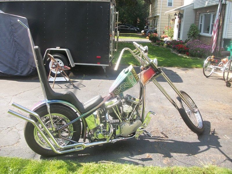 Photo of a 1957 Special Construction  Chopper