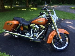 Photo of a 2014 Harley-Davidson® FLD Dyna® Switchback™