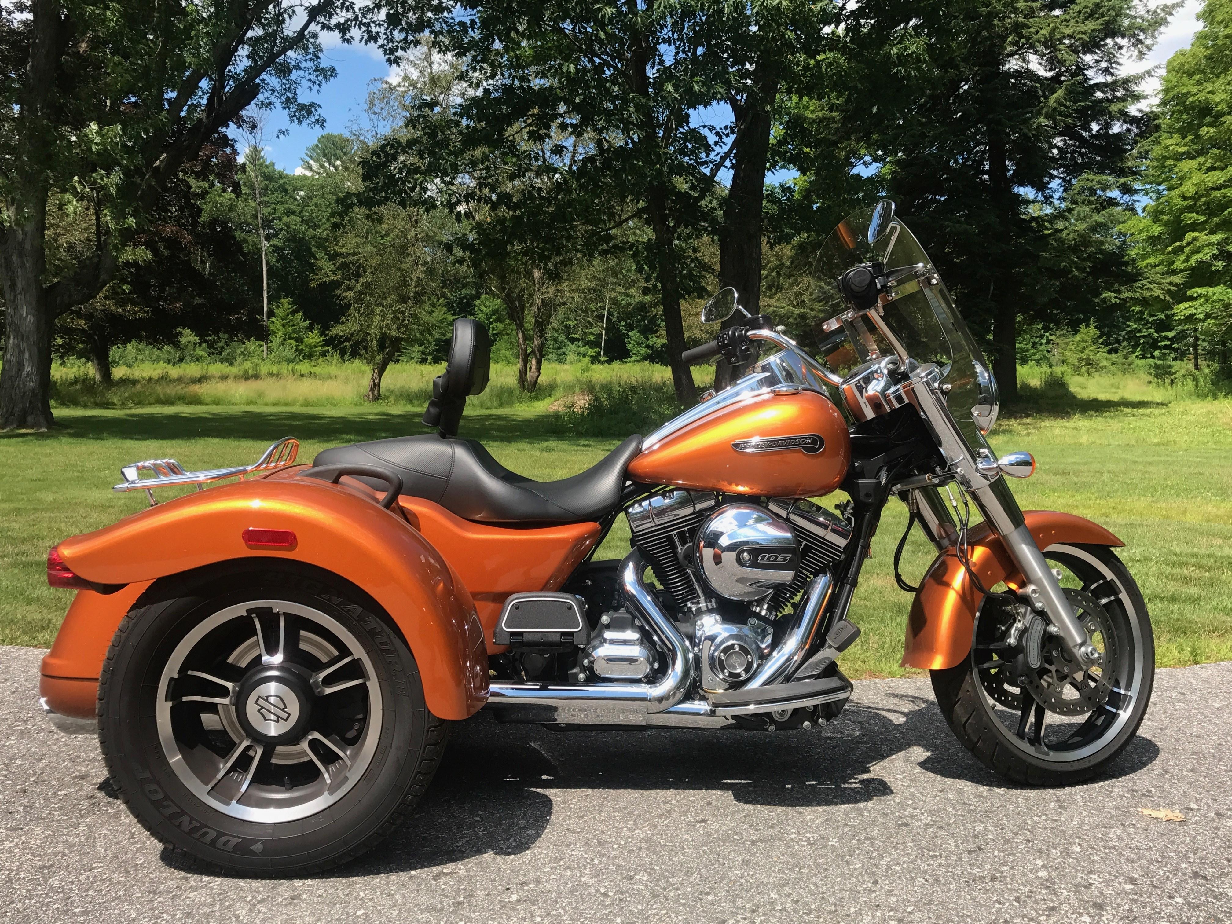 Used Harley Davidson Motorcycles For Sale San Marcos Tx >> 2015 Harley-Davidson® FLRT Freewheeler™ (Whiskey orange), Standish, Maine (736699)   ChopperExchange