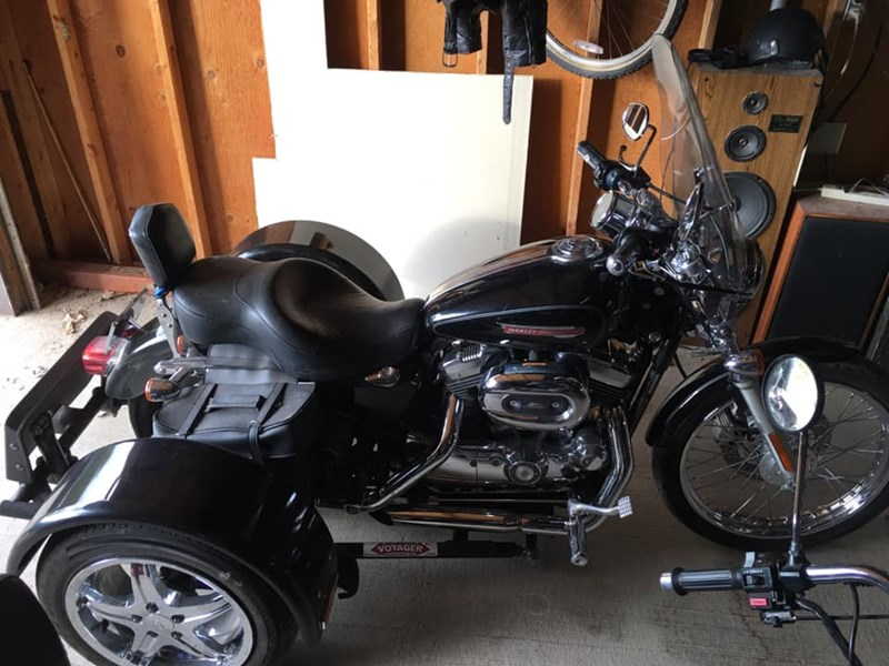 Photo of a 2008 Harley-Davidson® XLH-1200 Sportster® 1200