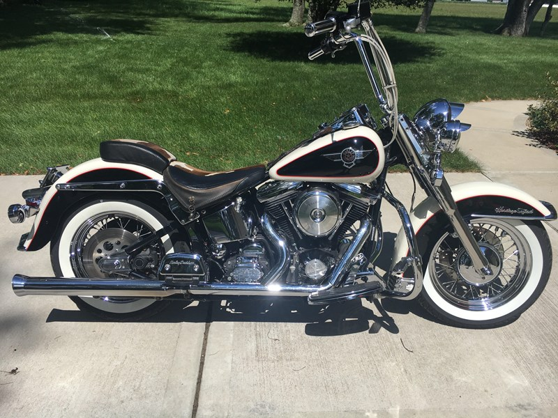 Photo of a 1993 Harley-Davidson® FLSTN Heritage Softail® Nostalgia