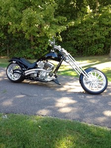 Used 2005 Bourget Bike Works Chopper
