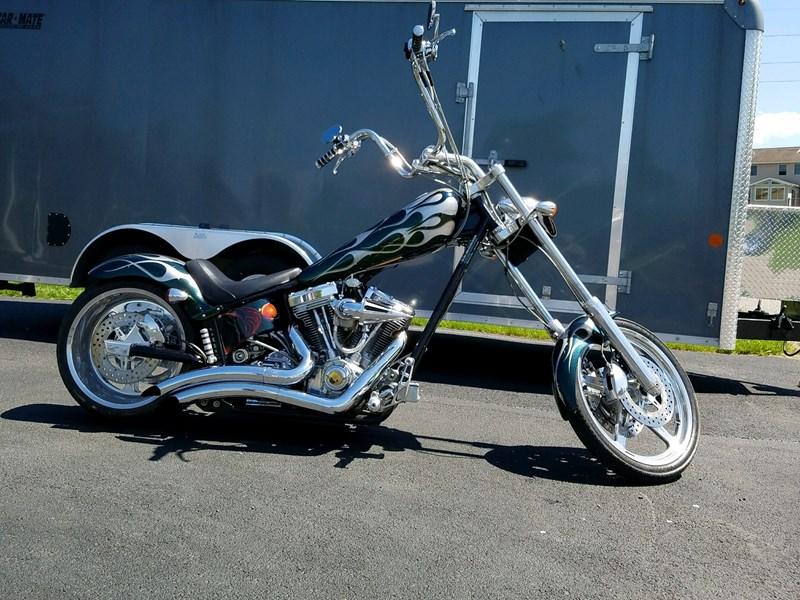 2004 american ironhorse texas chopper green and silver chambersburg pennsylvania 723662. Black Bedroom Furniture Sets. Home Design Ideas