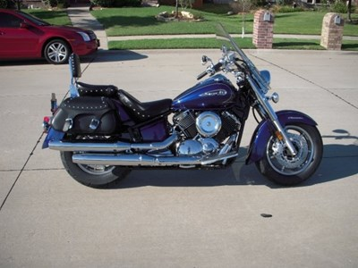Used 2009 Yamaha V-Star 1100 Silverado
