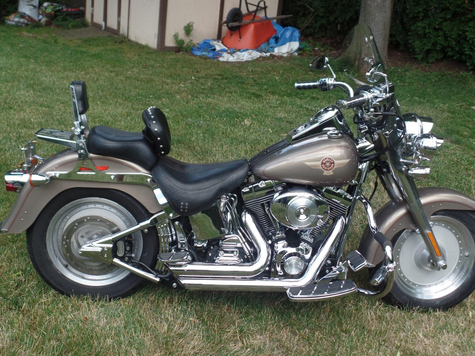 Harley Davidson Fatboy Th Anniversary Edition