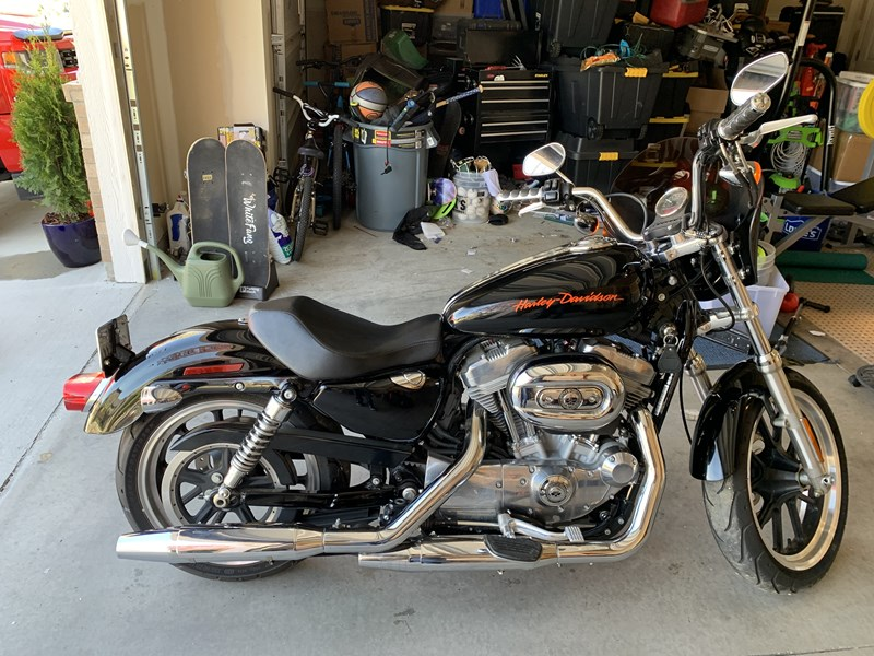 Photo of a 2014 Harley-Davidson® XL883N Sportster® Iron 883™
