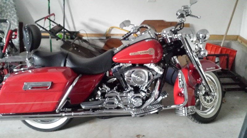 Photo of a 2006 Harley-Davidson® FLHR/I Road King® Firefighter/Peace Officer