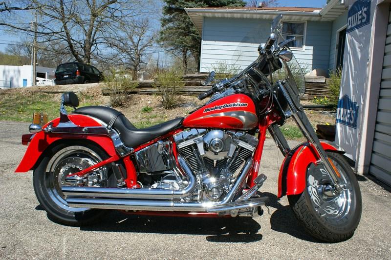 2005 Harley Davidson 174 Flstfse Screamin Eagle 174 Fat Boy