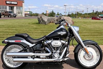 New 2018 Harley-Davidson® Softail® Fat Boy® 114