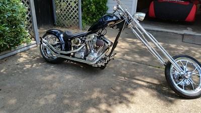 Used 2005 Bourget Bike Works Chopper