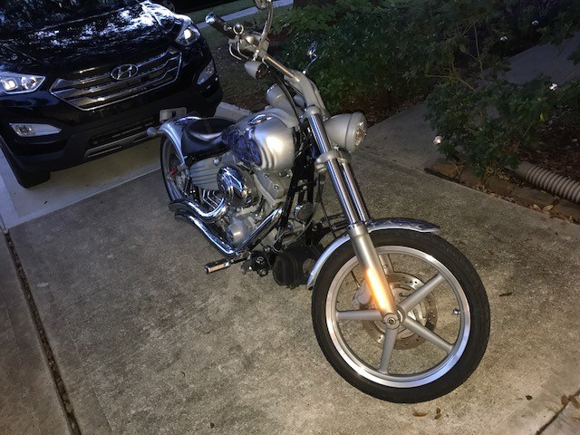 Photo of a 2009 Harley-Davidson® FXCW Softail® Rocker™