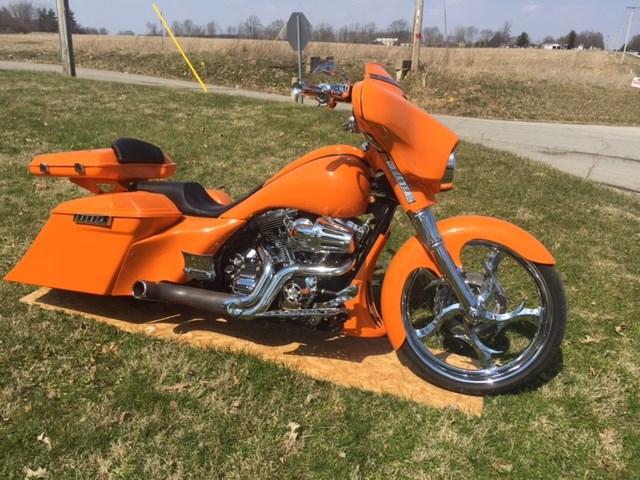 2014 harley-davidson® custom (crush headed orange ), greenfield