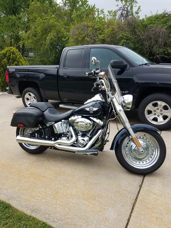 Photo of a 2014 Harley-Davidson® FLSTF Softail® Fat Boy®