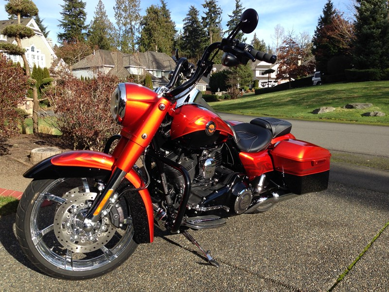 Photo of a 2014 Harley-Davidson® FLHRSE5 CVO™ Road King®