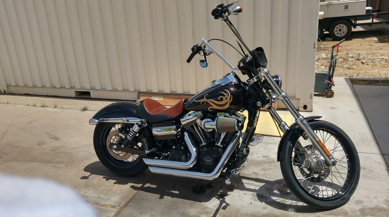 Photo of a 2012 Harley-Davidson® FXDWG Dyna® Wide Glide®