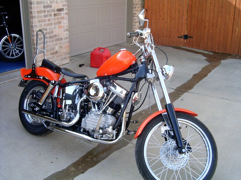 Photo of a 1961 Harley-Davidson®  Custom Chopper