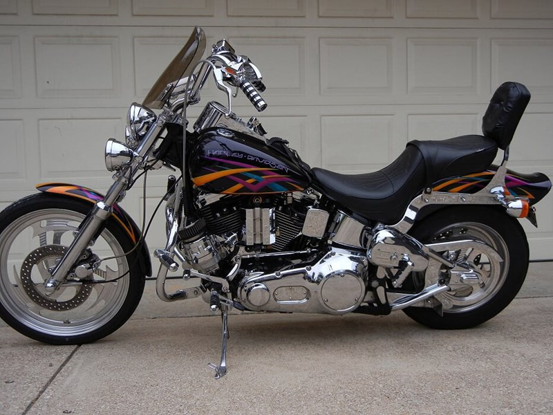 Photo of a 1995 Harley-Davidson® FXSTC Softail® Custom