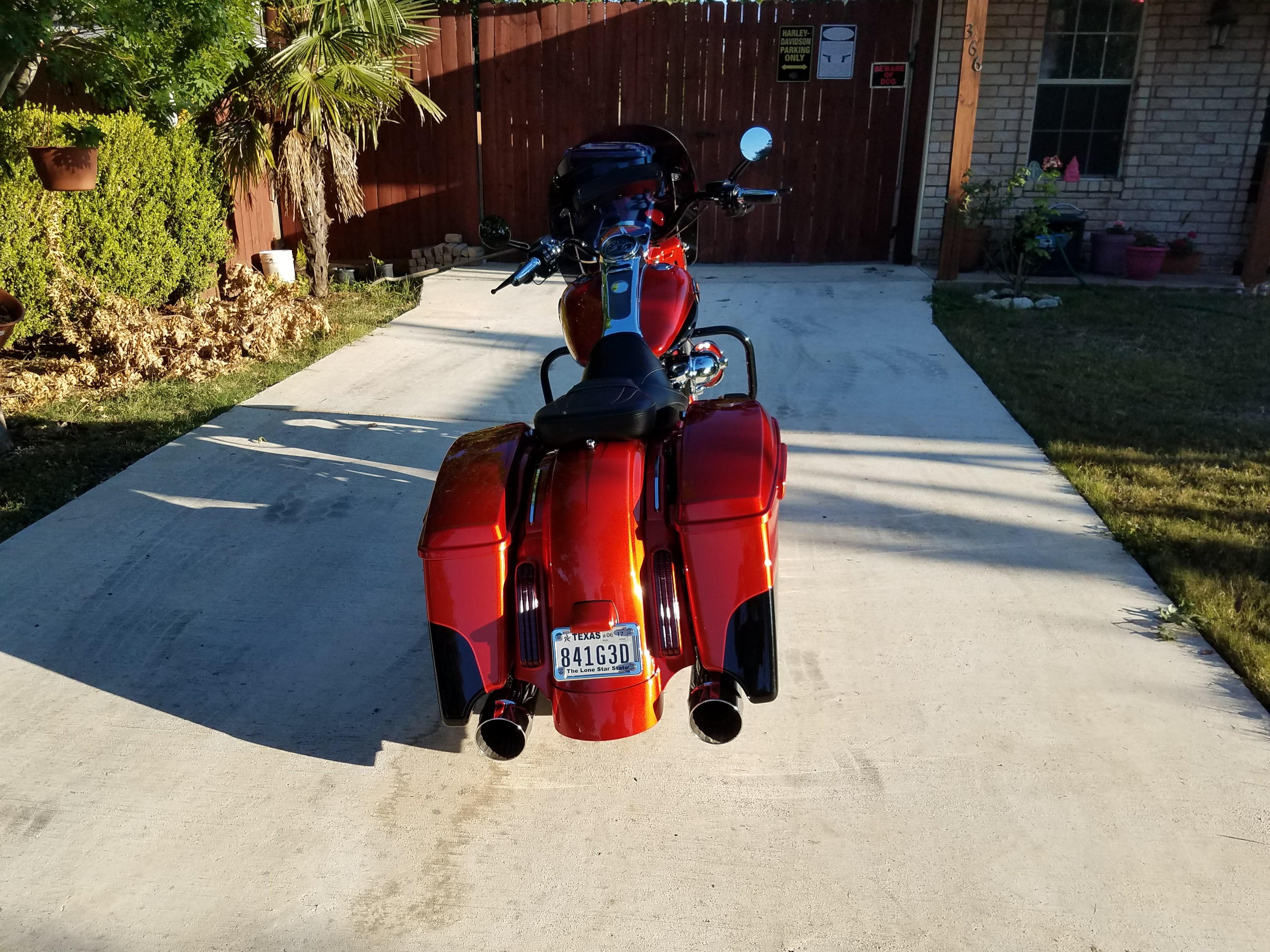 Harley Davidson For Sale San Antonio Tx >> 2014 Harley-Davidson® FLHRSE5 CVO™ Road King® (Tribal Orange and galactic black ), San Antonio ...