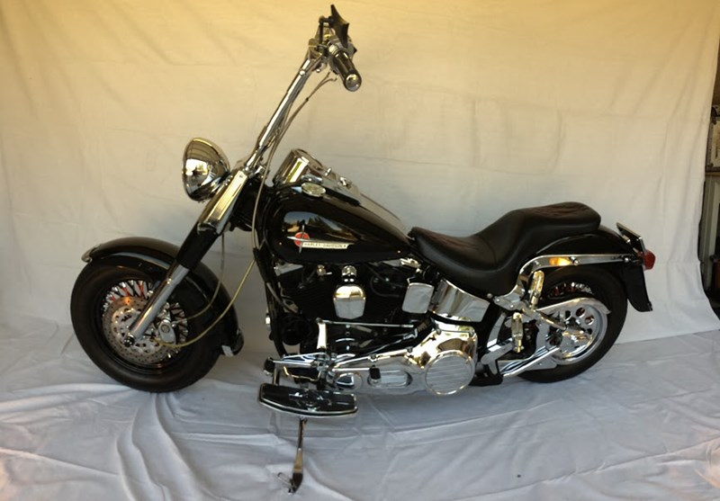 Photo of a 1991 Harley-Davidson® FLSTF Fat Boy®