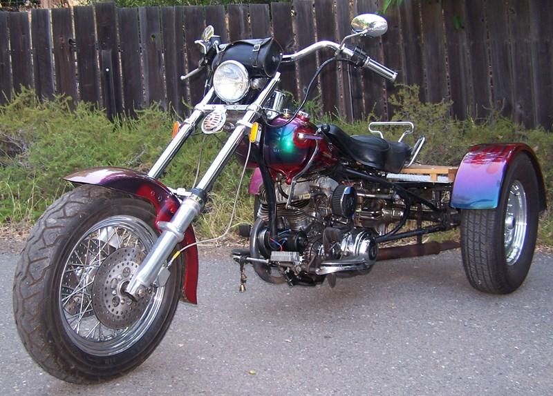 Photo of a 1960 Harley-Davidson® GA Servi-Car without tow bar
