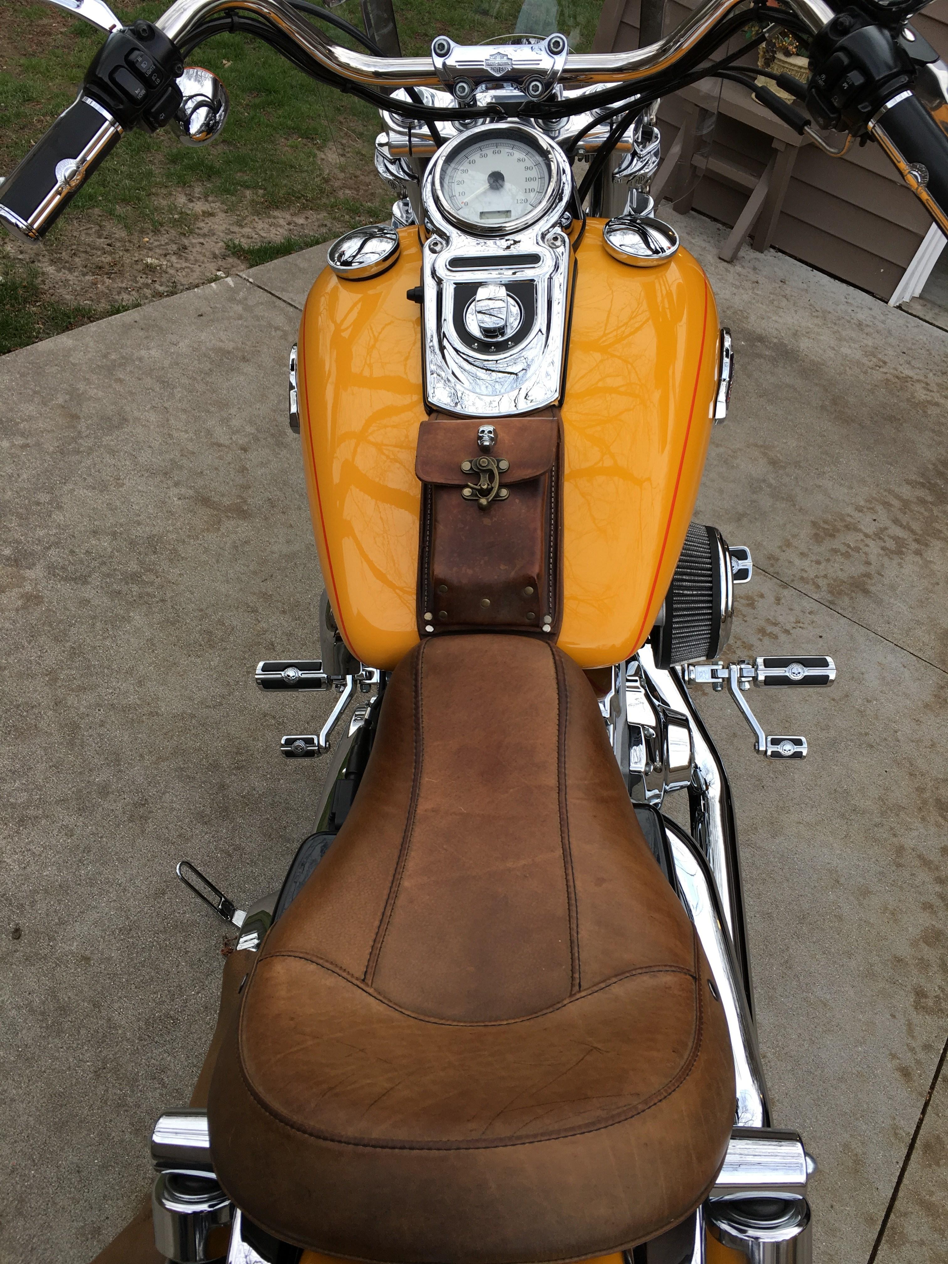 Harley Davidson Covers >> 2008 Harley-Davidson® FXDC Dyna® Super Glide® Custom (Sunset Yellow Pearl), Oak Park, Michigan ...
