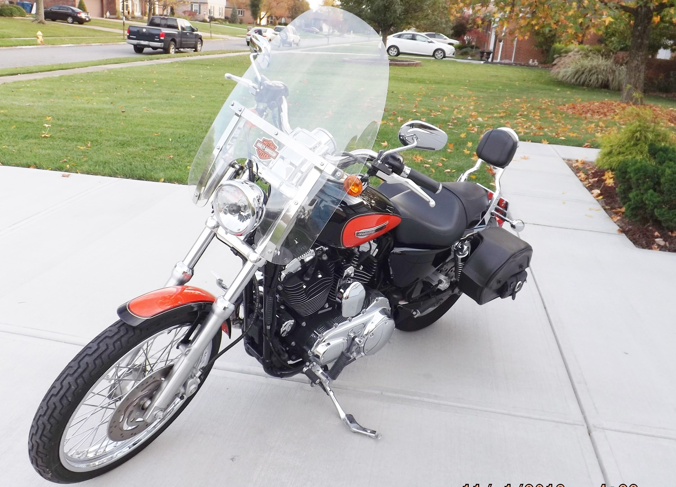 2008 Harley Davidson 174 Xl1200c Sportster 174 1200 Custom