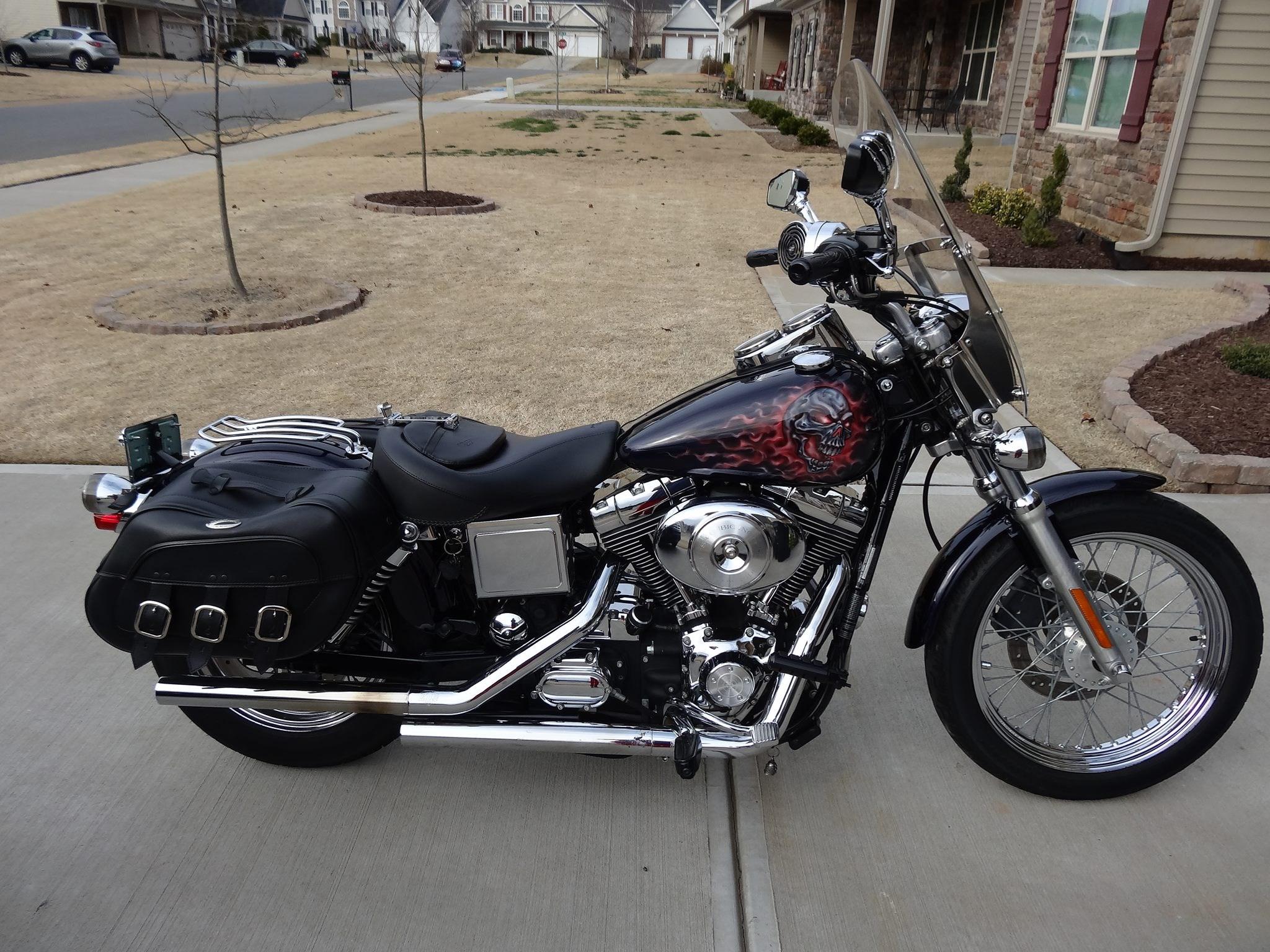 2001 harley davidson fxdl dyna low rider custom mooresville north carolina 705039. Black Bedroom Furniture Sets. Home Design Ideas