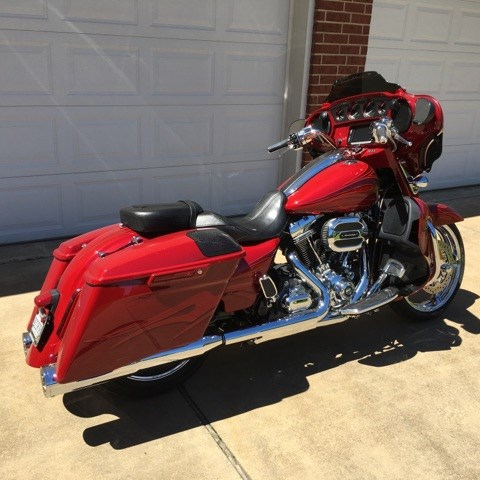 Harley Davidson Chico Ca >> 2016 Harley-Davidson® FLHXSE CVO™ Street Glide® (Atomic Red), Longview, Texas (711289 ...