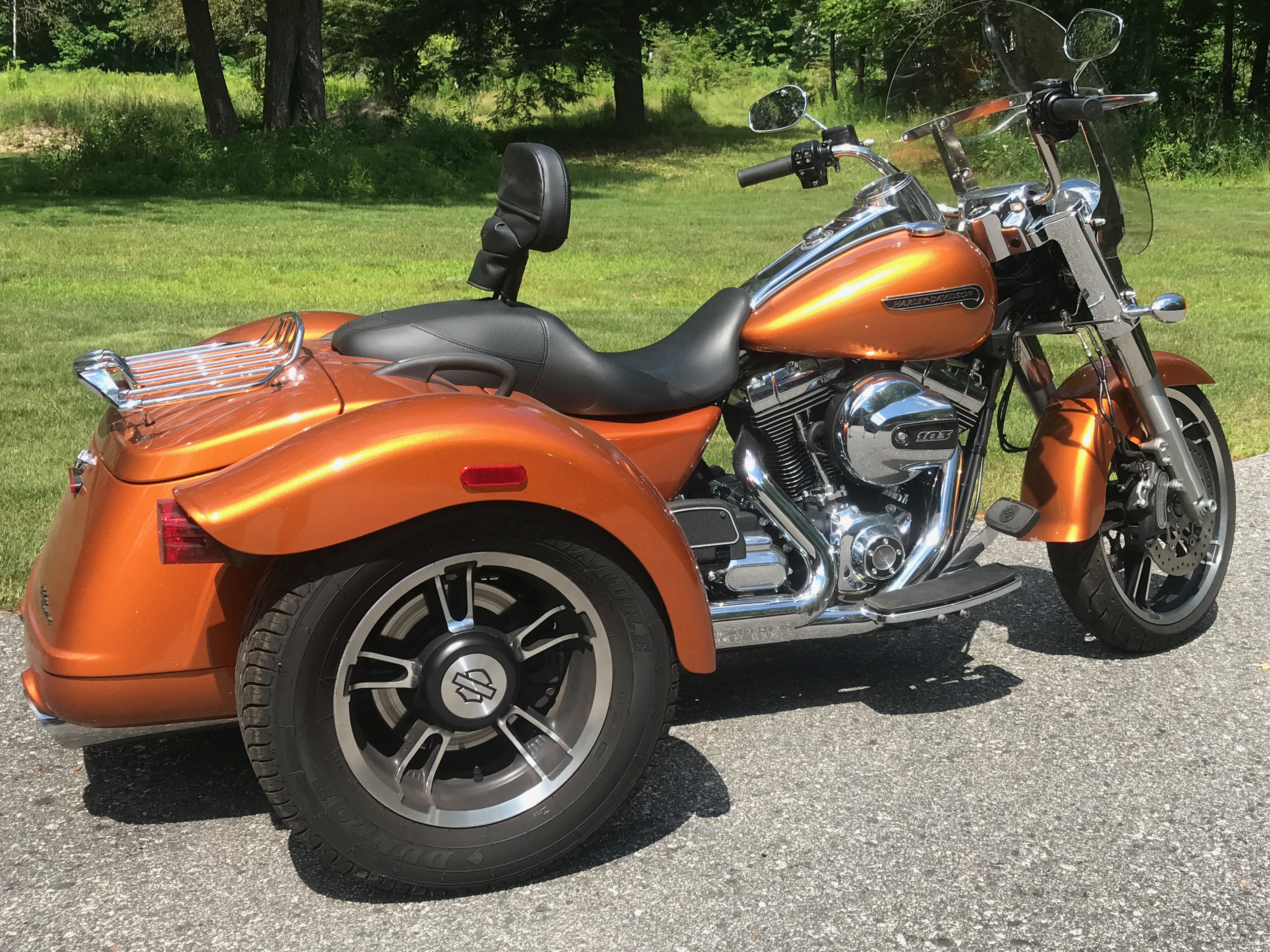 Motorcycles For Sale San Marcos Tx >> 2015 Harley-Davidson® FLRT Freewheeler™ (Whiskey orange), Standish, Maine (736699) | ChopperExchange