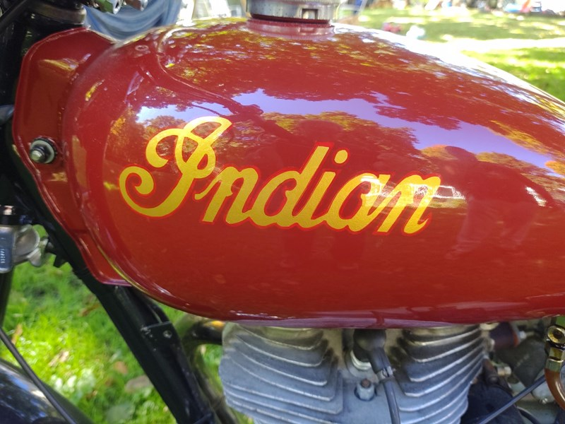 Photo of a 1955 Indian® Motorcycle  Woodsman