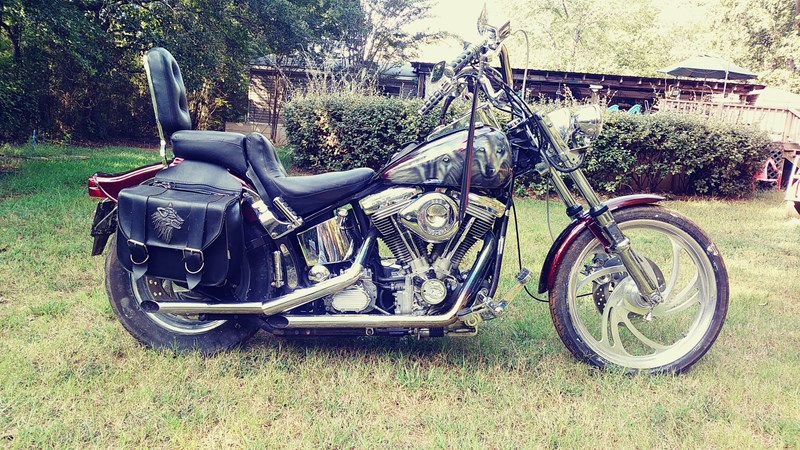 Photo of a 1988 Harley-Davidson® FXSTC Softail® Custom