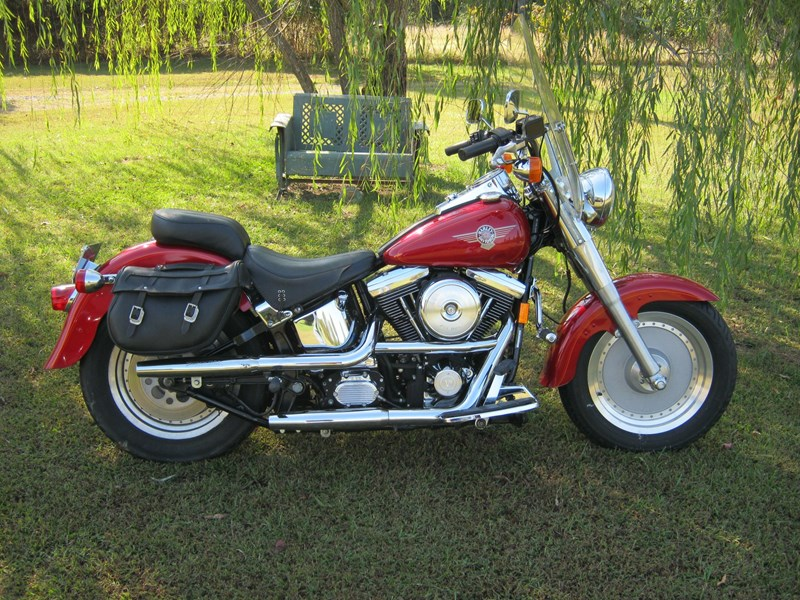 Photo of a 1995 Harley-Davidson® FLSTF Fat Boy®