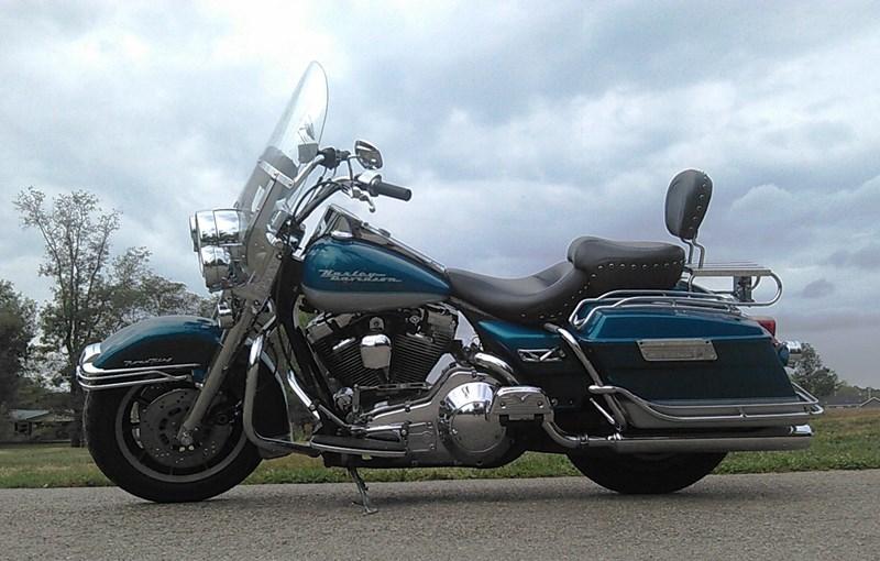 1994 Harley Davidson 174 Flhr Road King 174 Aqua Pear Silver