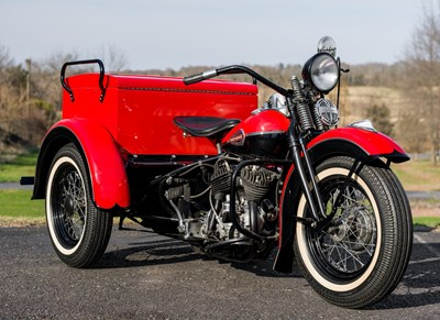 Used 1940 Harley-Davidson® Large compartment Servi-Car with tow bar