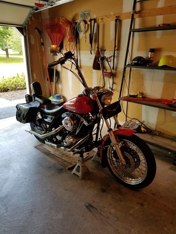 Photo of a 1982 Harley-Davidson® FXRS Super Glide II