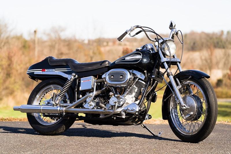 Photo of a 1972 Harley-Davidson® FX Super Glide®
