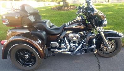 Used 2013 Harley-Davidson® Tri Glide™ Ultra Classic® 110th Anniversary
