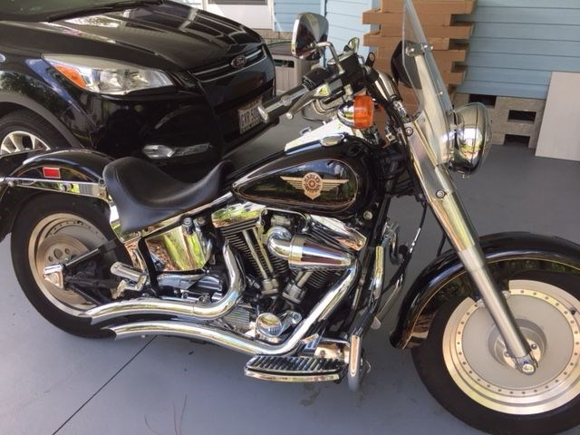 Photo of a 1998 Harley-Davidson® FLSTF Fat Boy®