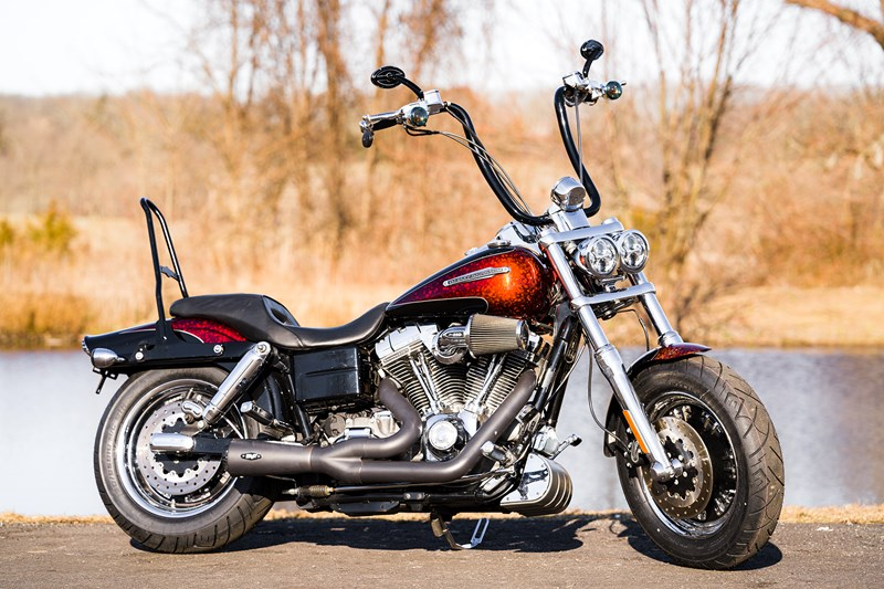 Photo of a 2009 Harley-Davidson® FXDFSE CVO™  Fat Bob™