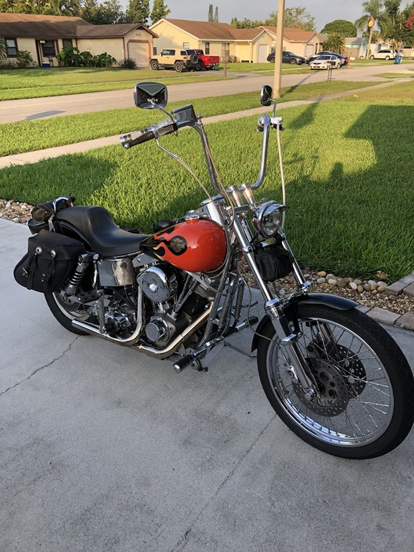 Photo of a 1983 Harley-Davidson® FXWG Wide Glide®