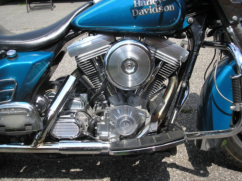 Photo of a 1991 Harley-Davidson® FLHS Electra Glide® Sport